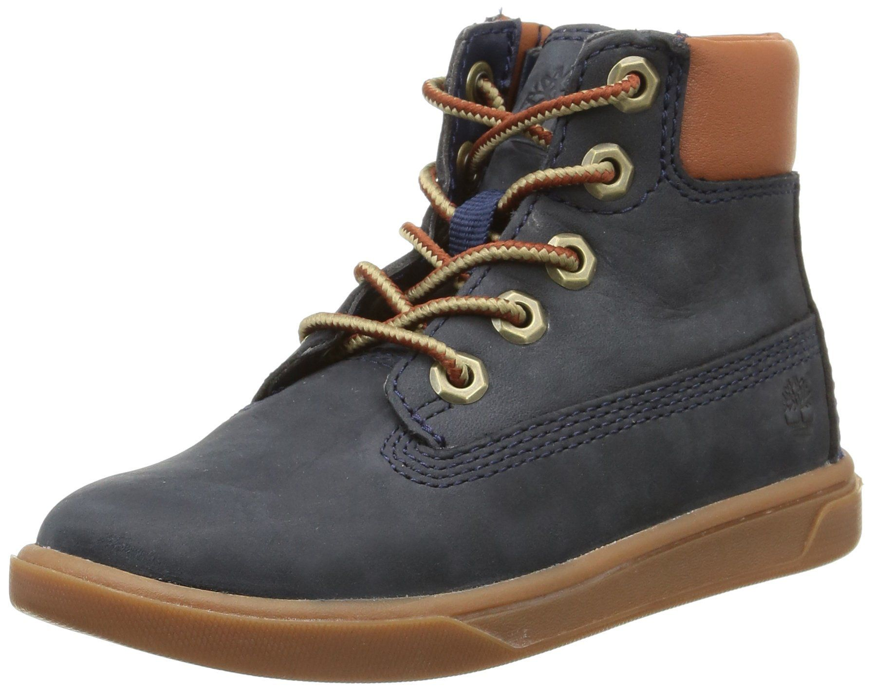 Timberland Youths Groveton Blue Leather Boots US (*Partner Link)