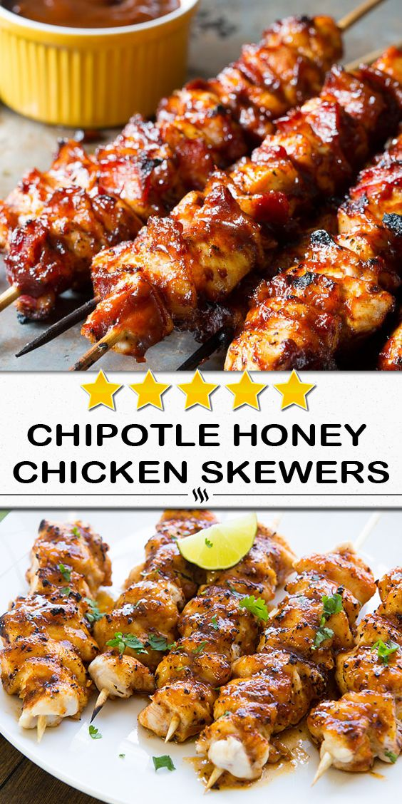 Photo of Yields: 8 servings | Serving Size: 1 skewer | Calories: 192 …