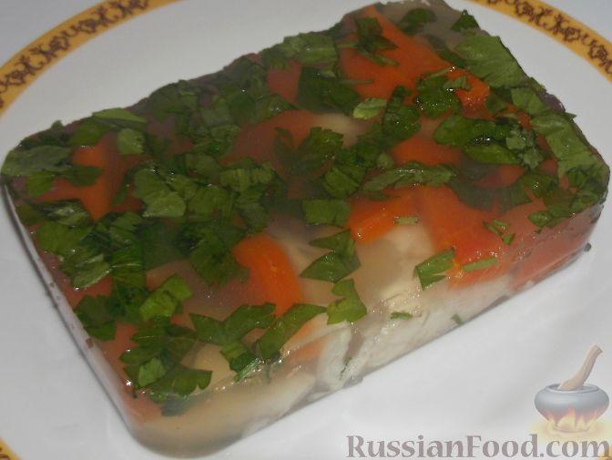 Фото к рецепту: Заливное из рыбы
