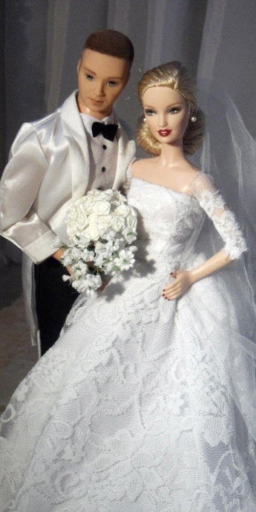 BArbie n Ken wedding | Barbie n Ken | Pinterest | Barbie, Puppen und ...
