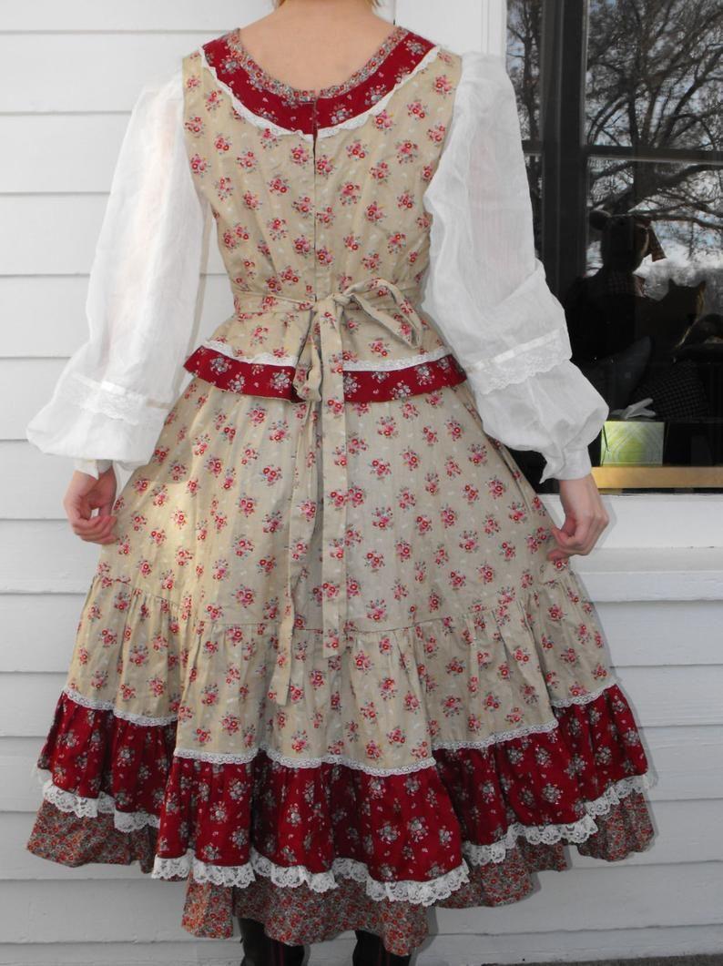 Vintage 70s Prairie Dress Corset Floral Gunne Sax Style Boho S Etsy Prairie Dress Corset Dress Gunne Sax [ 1061 x 794 Pixel ]
