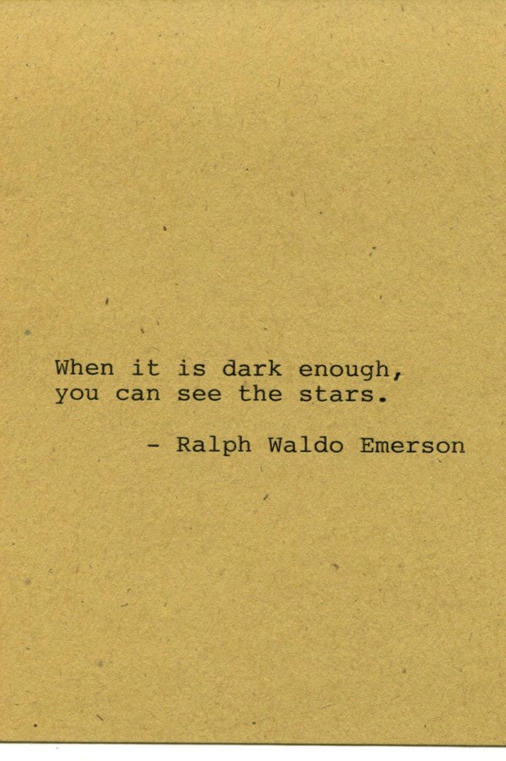 Ralph Waldo Emerson Quote Made on Typewriter Home Decor Wall Art ...