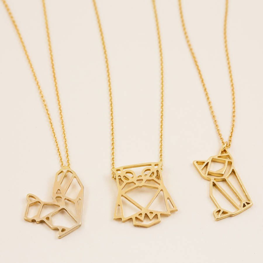 Gold animal pendant necklace pendants animal and gold gold animal pendant necklace mozeypictures Images