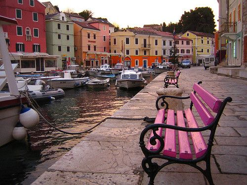 Lošinj harbour, Adriatic Coast, Croatia #travel