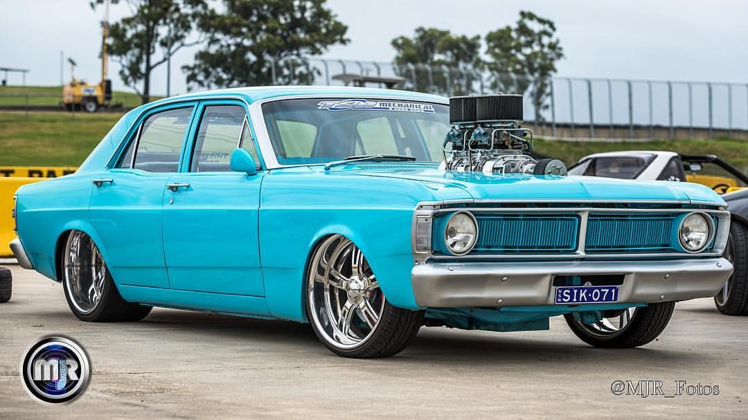 Tuff Blown Ford Xy Aussie Muscle Car