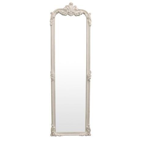 Aria White Standing Mirror FC - FQ0042 - - SHINE MIRRORS AUSTRALIA ...