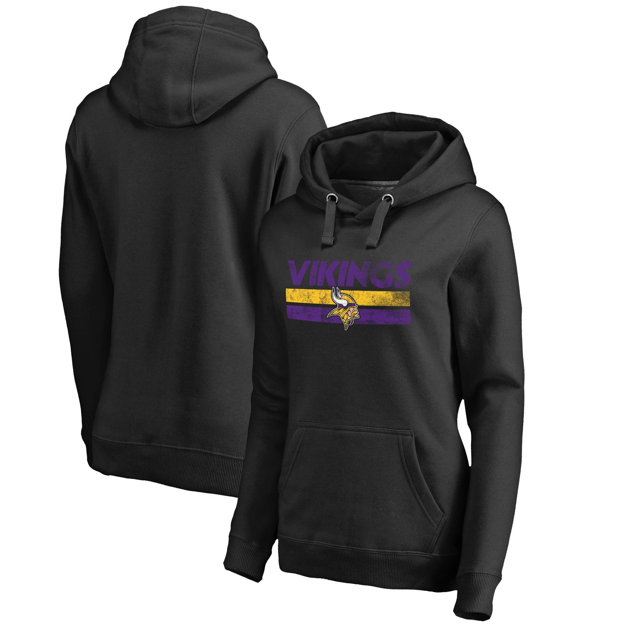 competitive price 7f5fb 88252 NFL Pro Line Minnesota Vikings Women's Black First String ...