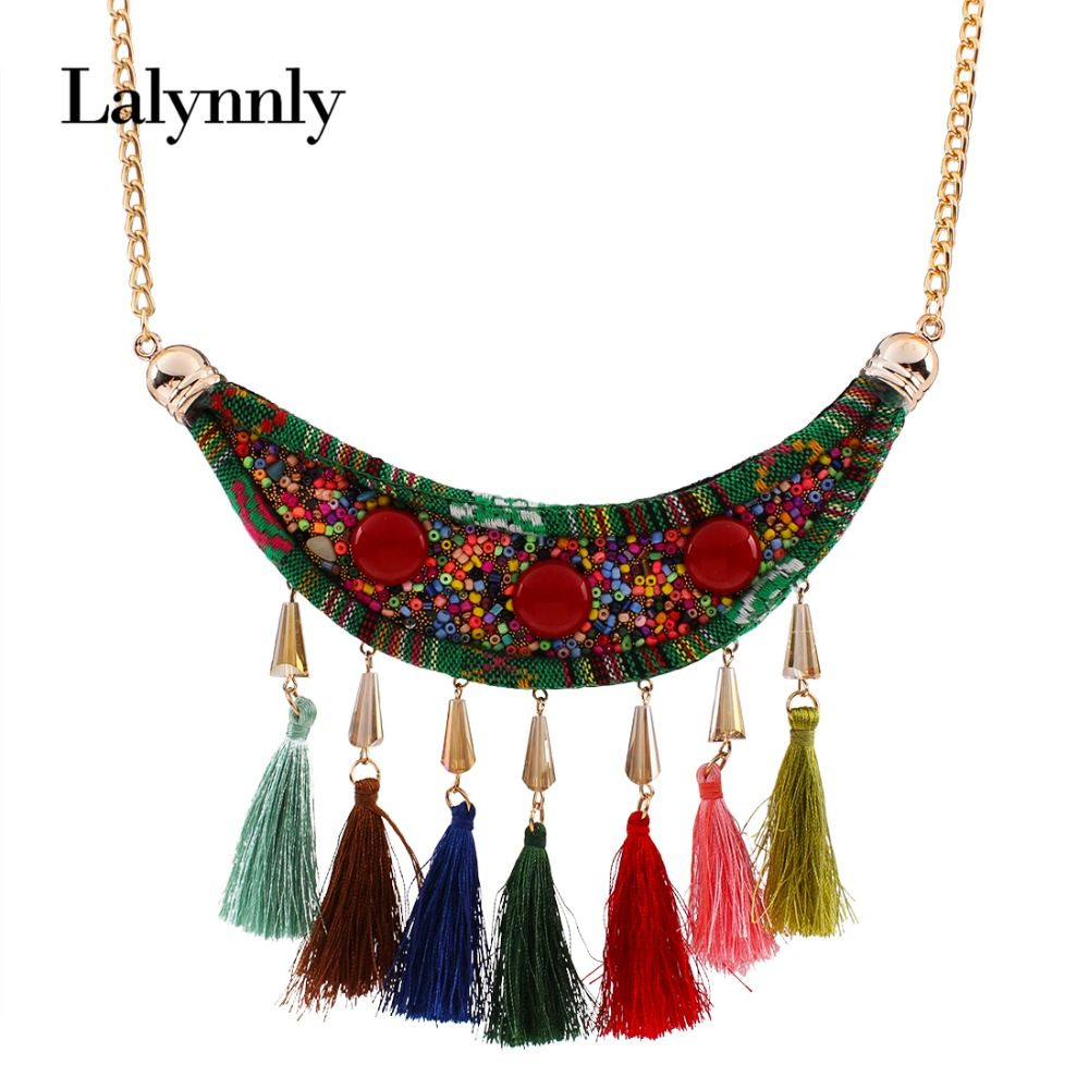 New Design Fashion Jewelry Vintage Beads Resin Pendant Necklace ...