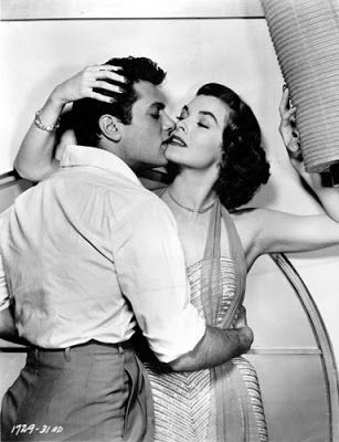 "Vintage Glamour Girls: Joanne Dru & Tony Curtis in "" Forbidden """