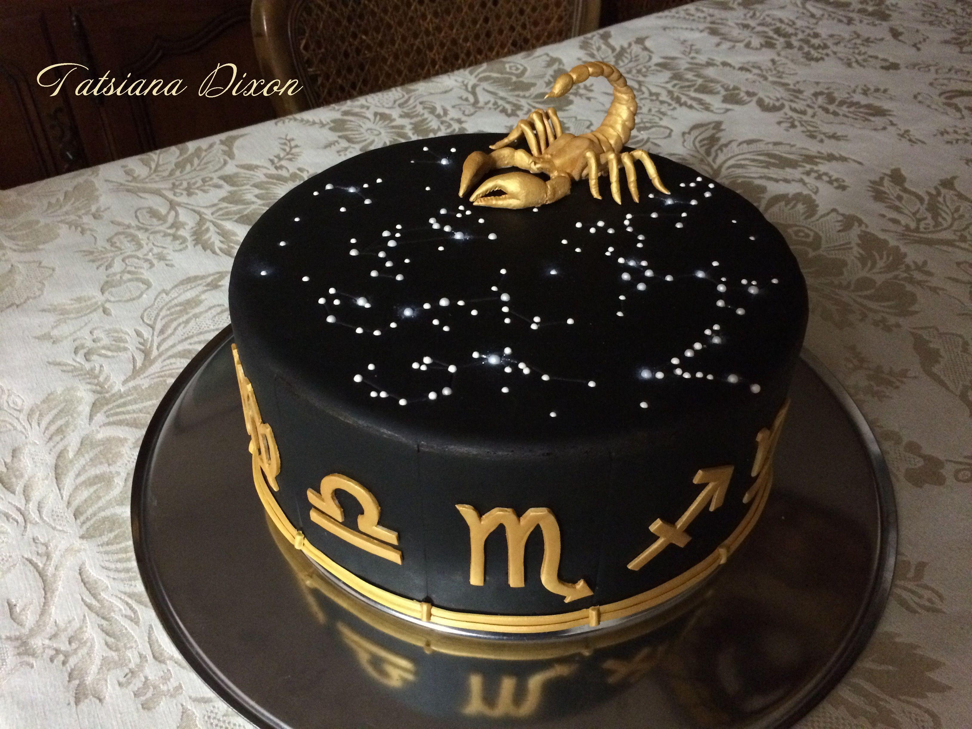 Horoscope cake
