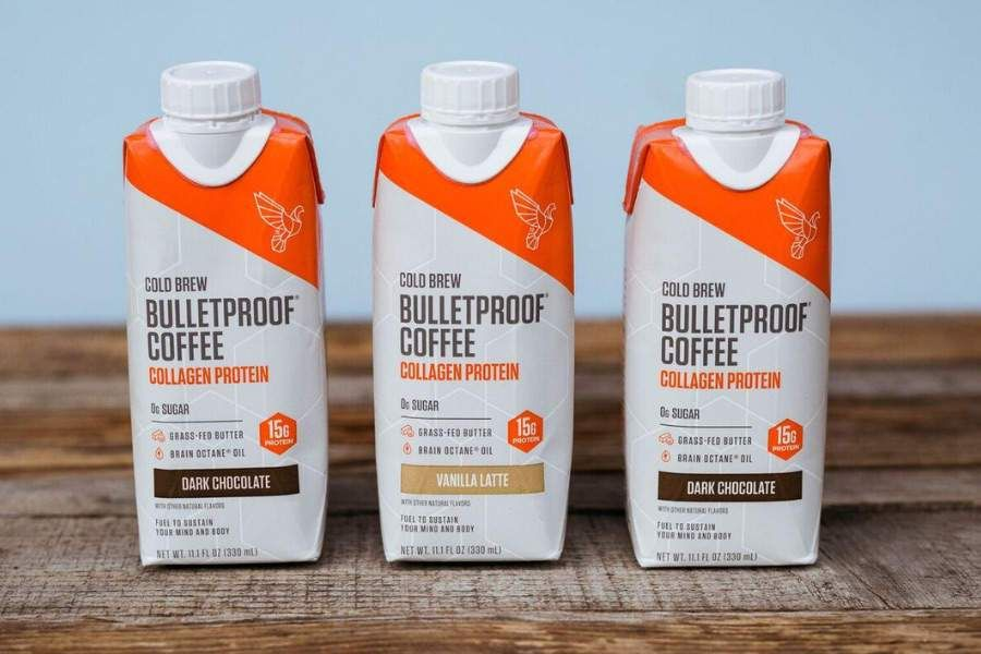 Bulletproof power mind and body with images coffee