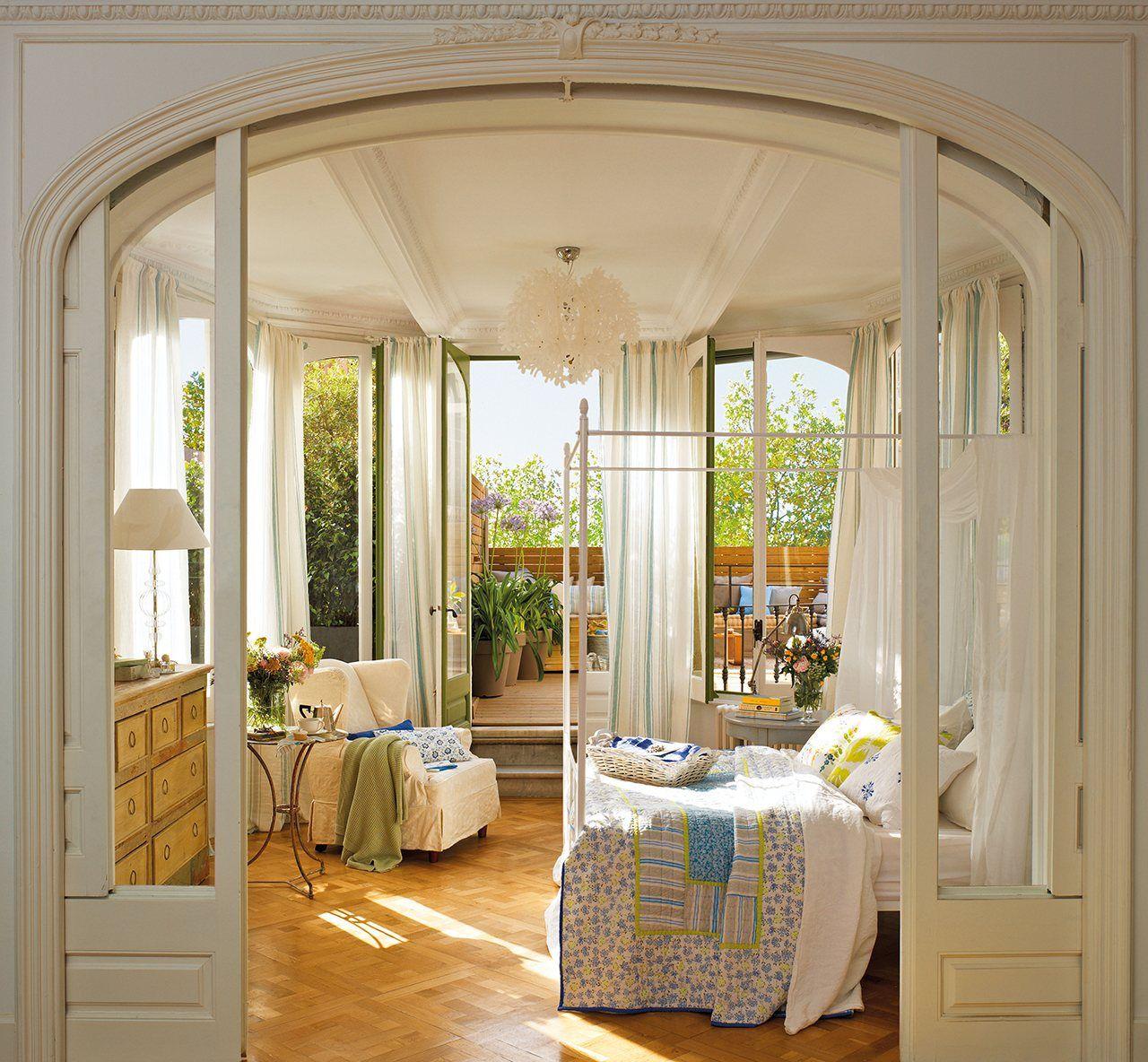 10 dormitorios de ensue o hogar pinterest Dormitorios de ensueno