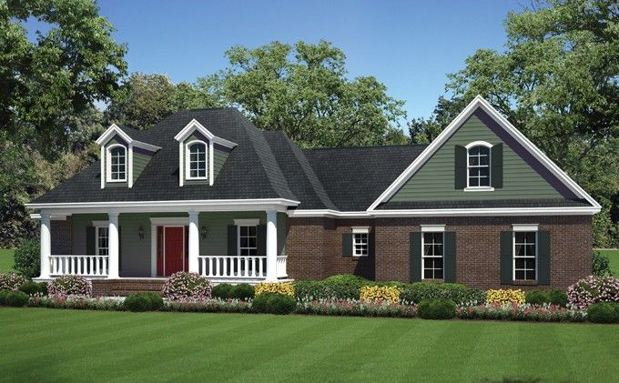 Country Style House Plan 3 Beds 2 Baths 1925 Sq Ft Plan 21 374 Country Style House Plans Colonial House Plans House Plan Gallery
