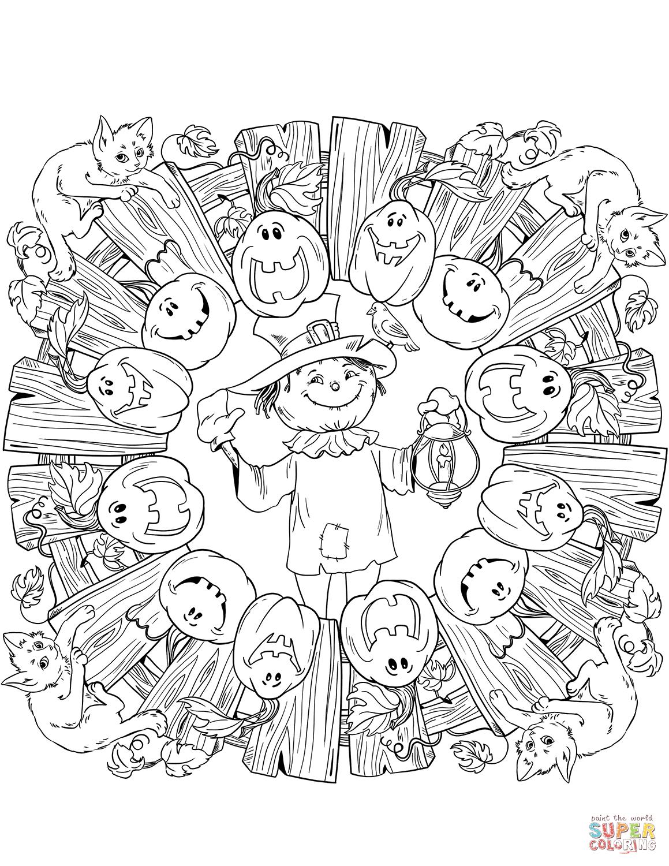 44+ Pumpkin coloring pages mandala info