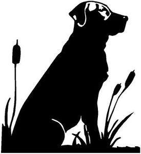 Duck Hunting Dogs Drawing Images  Pictures Becuo Black Dog - Sporting dog decals