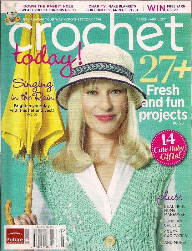 Crochet Today 2011 03 04 Mags Crochet Today Pinterest