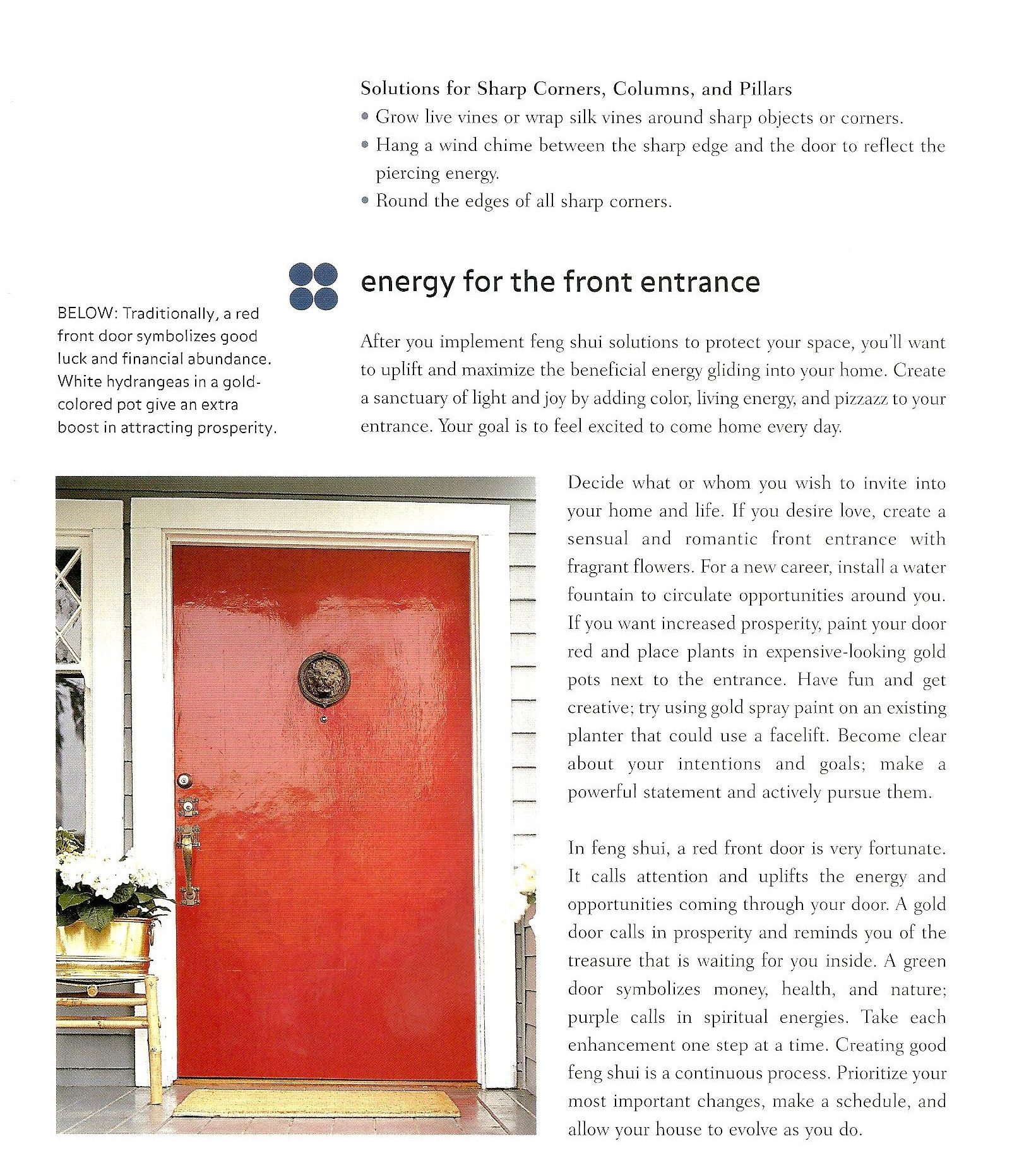 Why Red Doors Are Good Feng Shui Front Door Feng Shui Pinterest