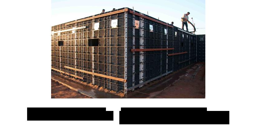 Formwork and Shuttering System - GULF | Scaffold | Aluminium