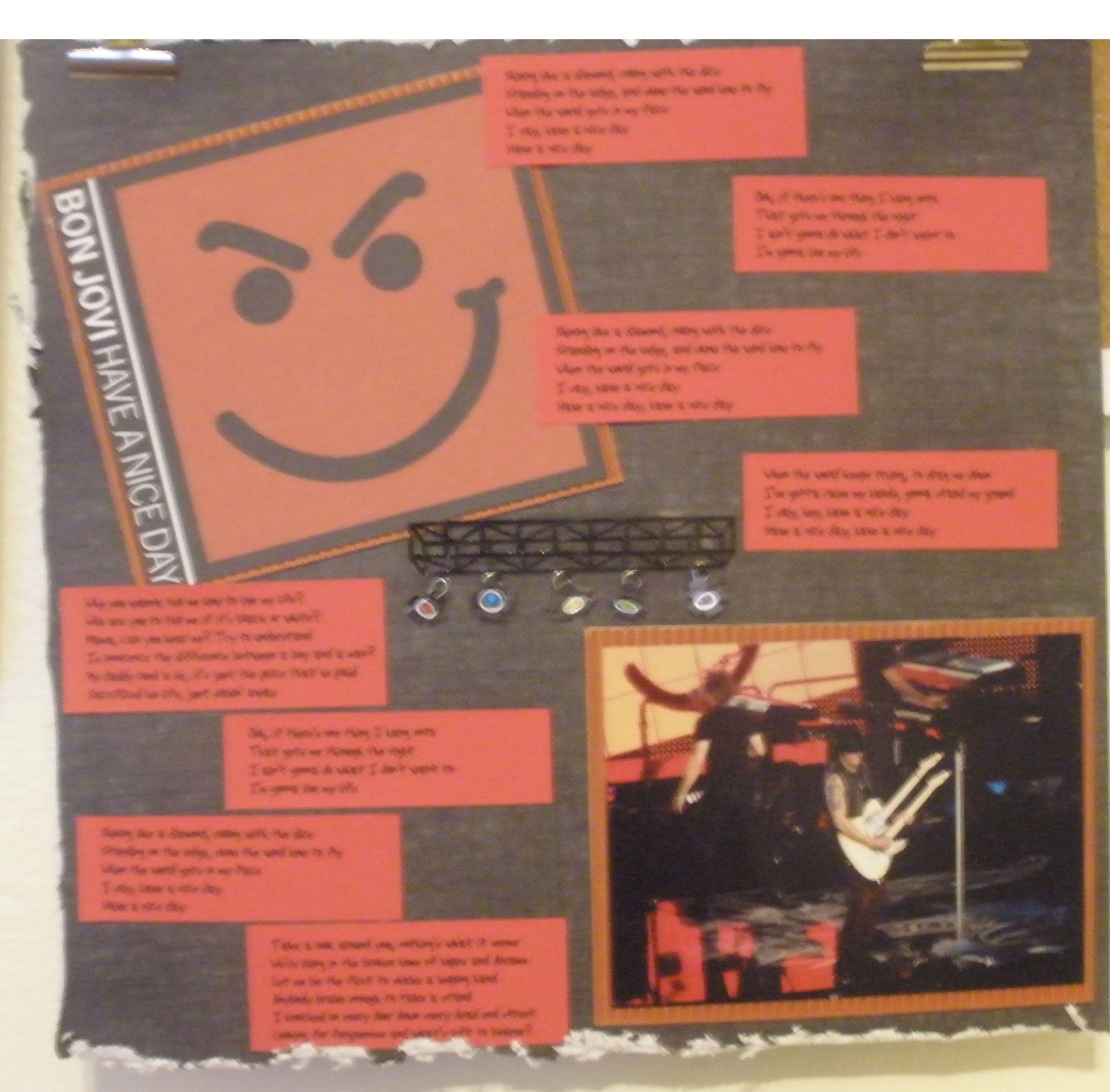 Bon Jovi Concert Album Pg23 Scrapbook Com Bon Jovi Concert