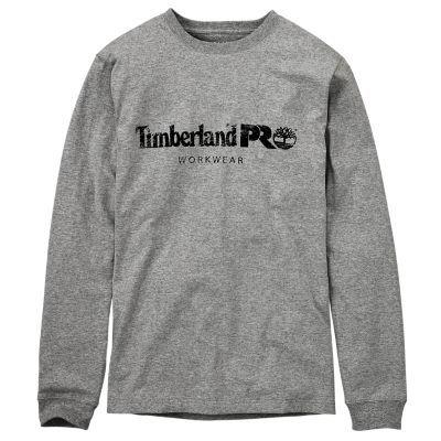 Men S Timberland Pro Cotton Core Long Sleeve T Shirt Timberland Mens Work Shirts Timberland