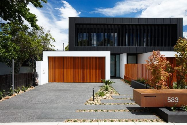 Garagentor holz modern  lamellen constructie - Google zoeken | Architecture | Pinterest ...
