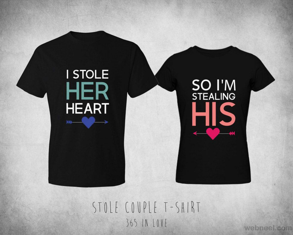 0179e50e8a valentines day gift ideas her him   Couple shirts   Matching couple ...