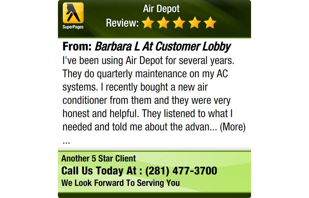 I Ve Been Using Air Depot For Several Years They Do Quarterly