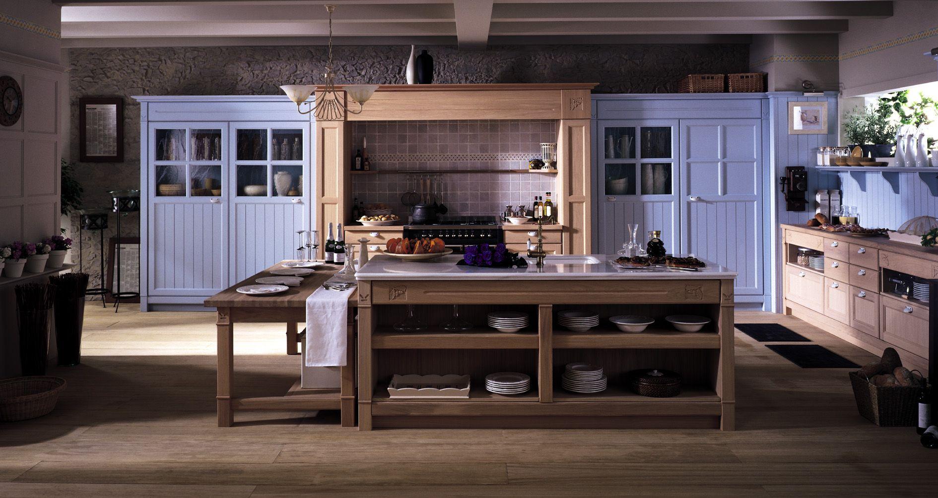 Cocinas de campo New Country - Gunni & Trentino | Nuestra cocina ...