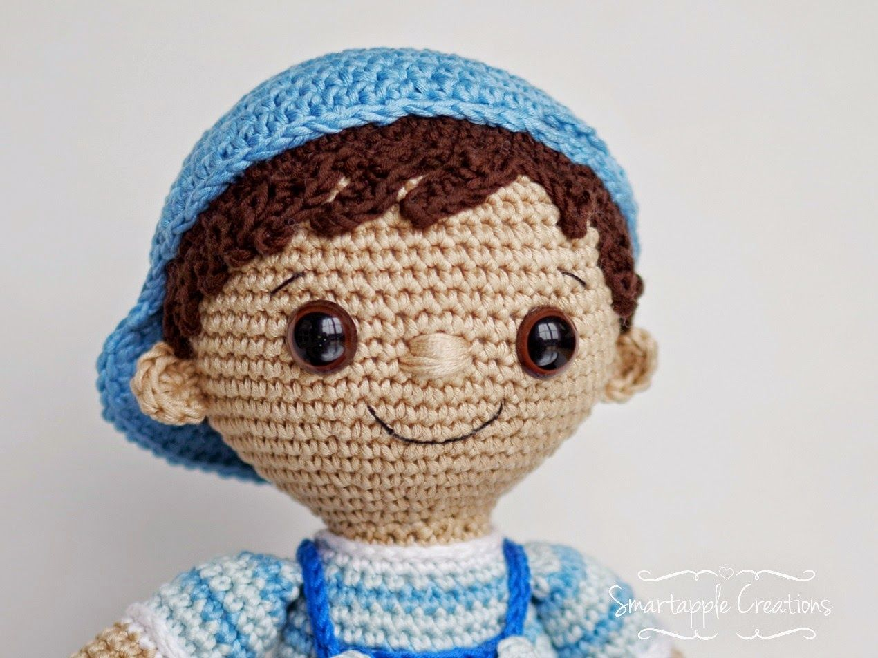 Crochet Boy Doll Amigurumi Basic Body (Ben) - YouTube | 952x1270