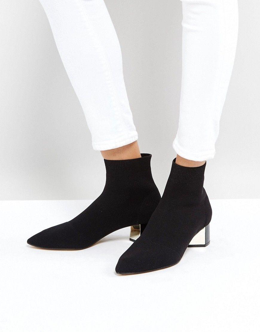 Stradivarius - Ankle-Boots im