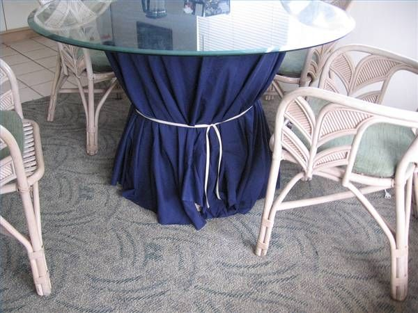 How to Make a Box-Pleated Table Skirt