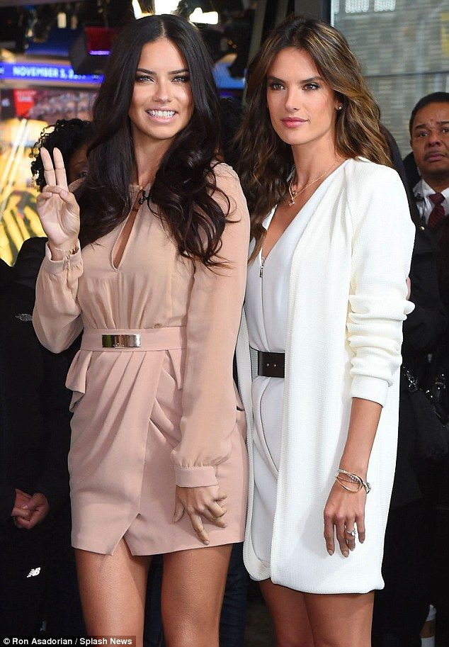 da63ce9eb8 Adriana Lima and Alessandra Ambrosio are the first duo to be given the  opportunity to close