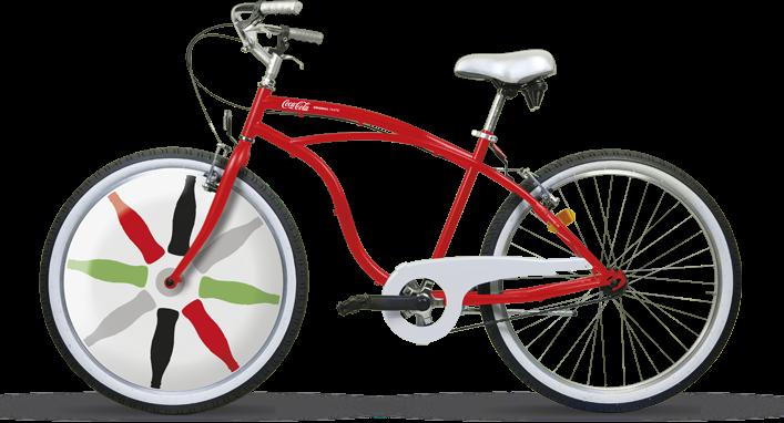 Cocacola Bicicletta