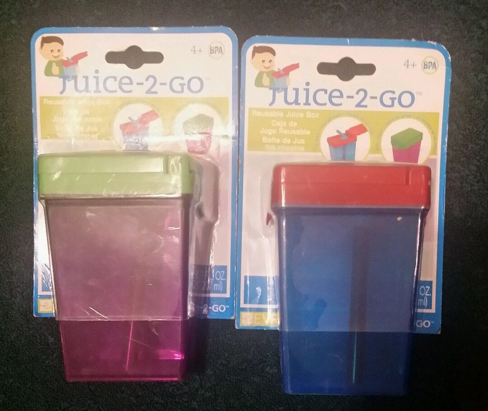 Juice in the Box Reusable Juice Box Red