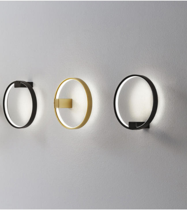 Zero Round Wall Lamp by Panzeri in Suspended & Pendant Lights #pendantlighting