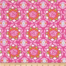 Dena Designs Sunshine Linen Blend Circle Pink