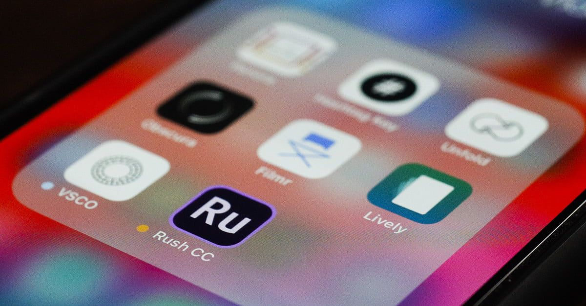 Adobe Premiere Rush CC is the cloudbased video editing