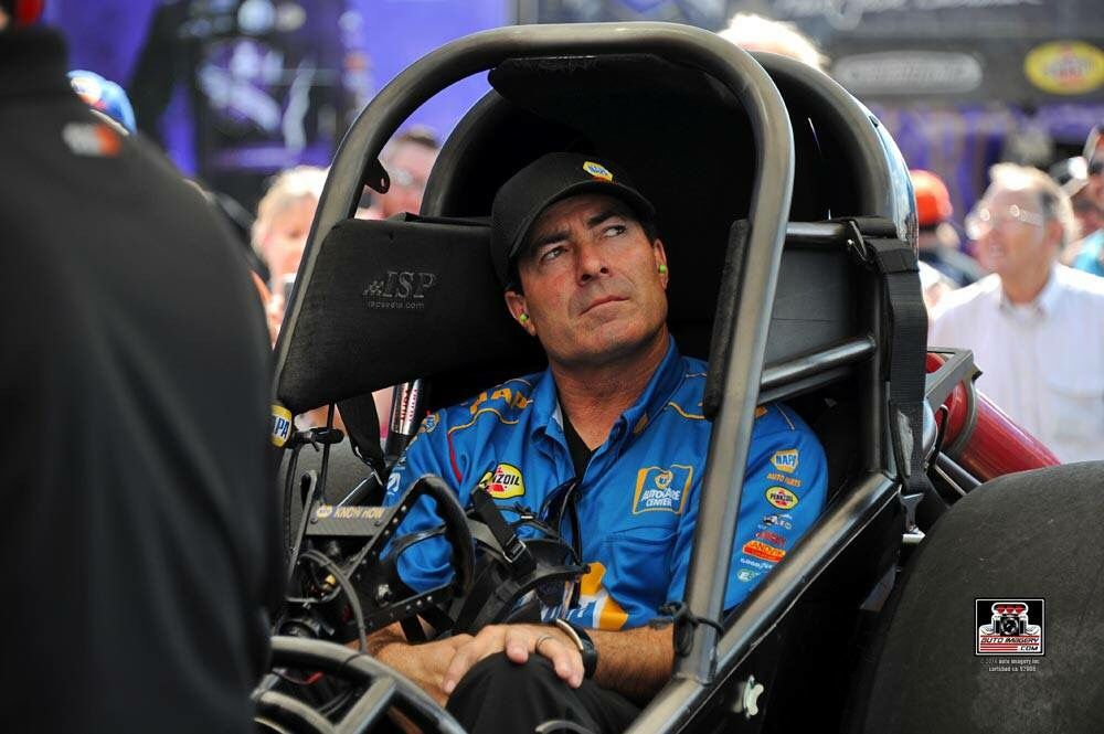Ron Capps & Team win the Summer National's in the Napa Nitro Funny Car