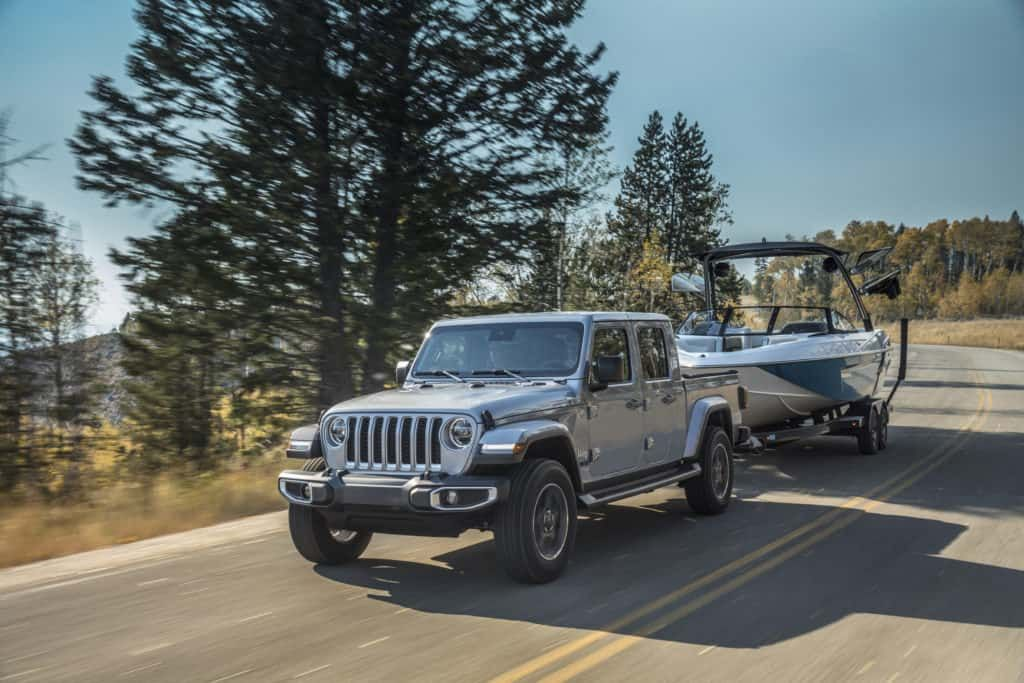Towing Capacity How Much Can A Jeep Gladiator Truck Tow Jeep