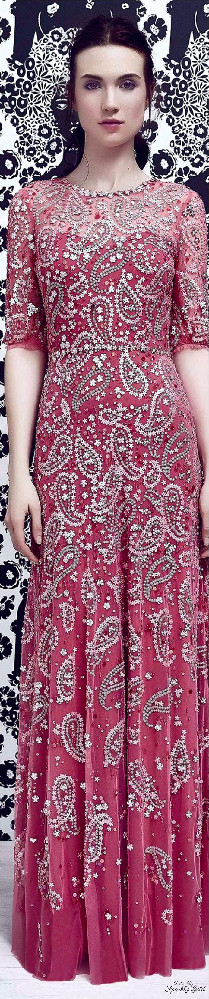 Jenny Packham Resort 2017 … | ruhák | Pinterest | Alta costura ...