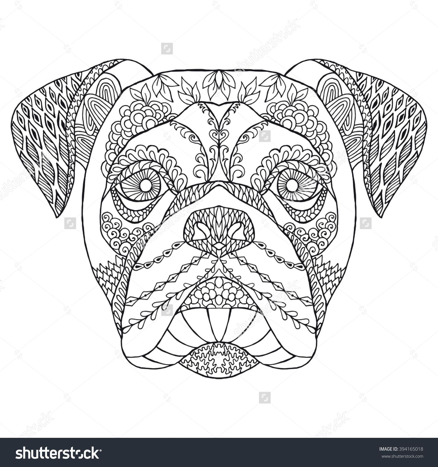 Boxer - Energetic and Funny | Hand drawn, Dog and Illustrations