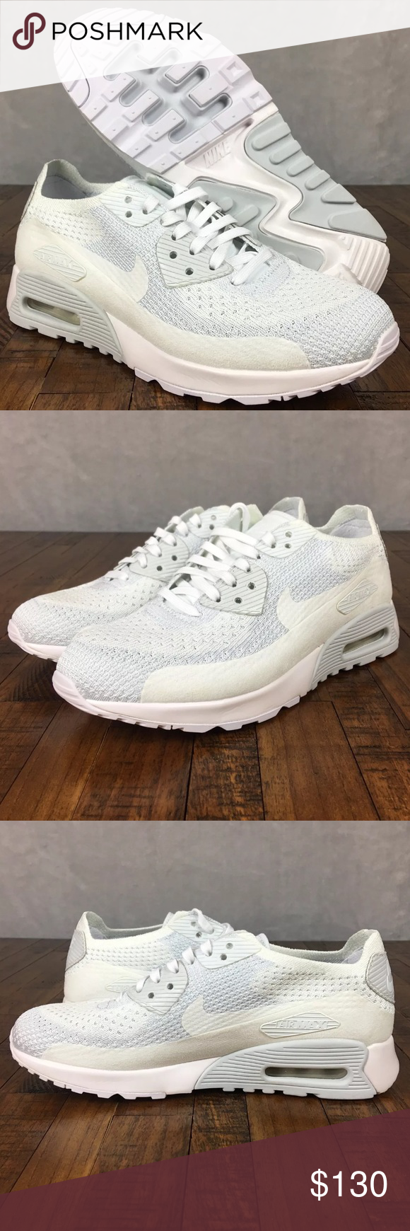 NEW Nike Air Max 90 Ultra 2.0 Flyknit Sneakers NIKE AIR MAX