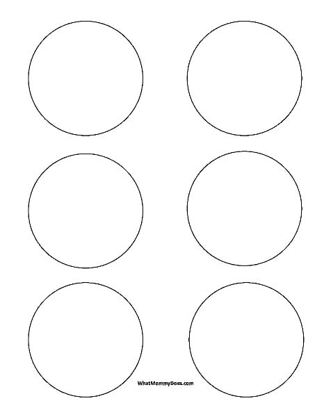 circle templates small 3 inch shapespdf onedrive - 3 5 Inch Circle Template