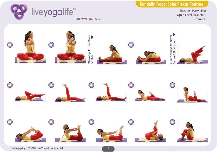 Kundalini Yoga Chakra Program - SOLAR PLEXUS ROUTINE