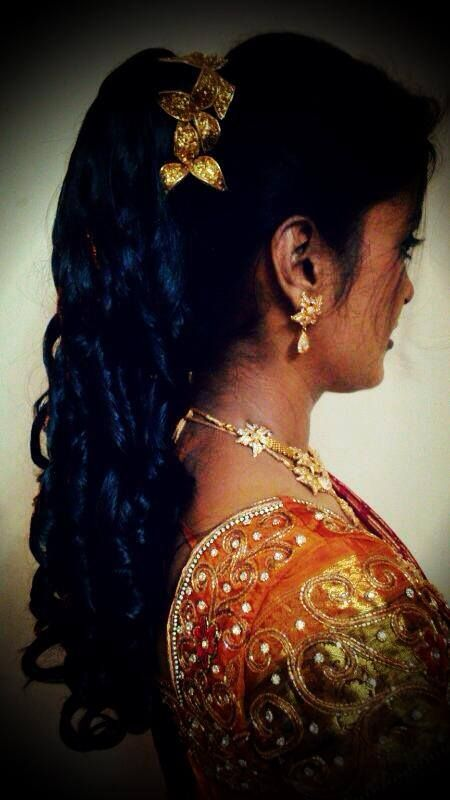 Hair Style For Indian Wedding Reception