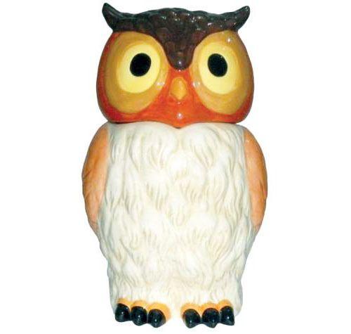 ★ New Cookie Jar Dog Figurine Owl Bird Statue Dog Cat Puppy Treat Container | eBay