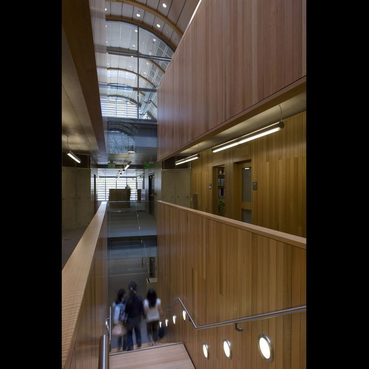 "<b>Project:</b> Kroon Hall, Yale University<p></p><b>Location:</b> New Haven, Connecticut<p></p><b>View:</b> Stairs<p></p><b>Architect:</b> <a href=""http://www.hopkins.co.uk/"">Hopkins Architects</a> and <a href=""http://www.centerbrook.com/"">Centerbrook Ar"