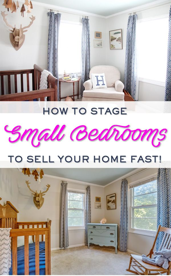 Staging bedrooms and bathrooms to sell your home fast