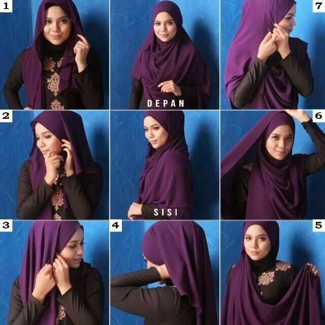 Tight Back Hijab Tutorial For Chest Coverage For Ramadan B G Fashion Hijab Tutorial Hijab Style Tutorial Hijab