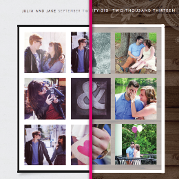Customize your wedding website at The Knot Spot